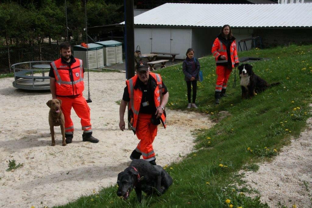 Spendenübergabe und Vorführung in Dausenau